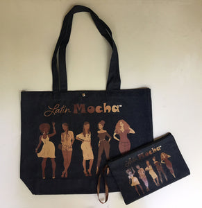 LatinMocha Tote Bag (DENIM)