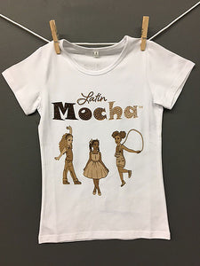 "SALE - ""Rayito de dulzura"" little girl's tshirt"