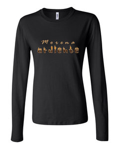 """Morena ardiente"" - Women's Long-sleeve t-shirt"