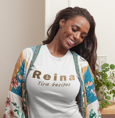 Reina, Tira Besitos - Light Colors, Short-Sleeve T-Shirt