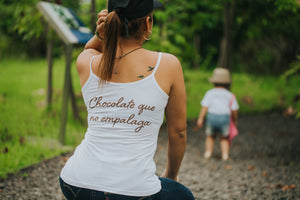 """Chocolate que no empalaga"" tank top"