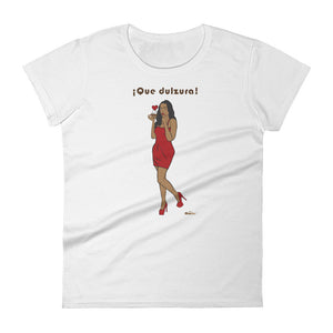 ¡Que dulzura! Women's short sleeve t-shirt