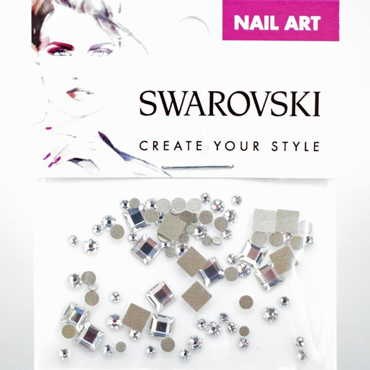 Swarovski Square Mix Pack - Crystal