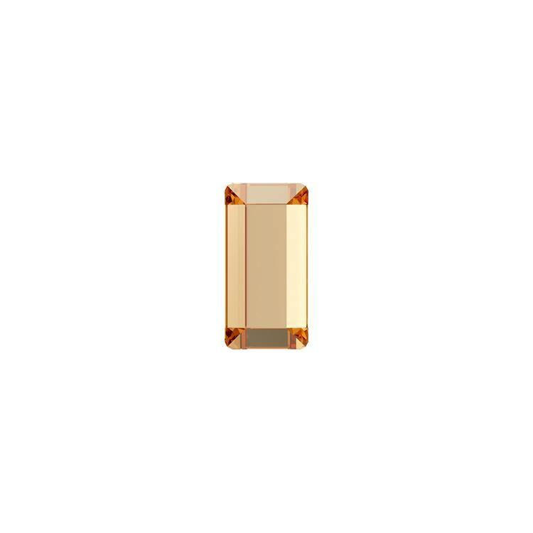 MINI BAGUETTE FLAT BACK - CRYSTAL GOLDEN SHADOW