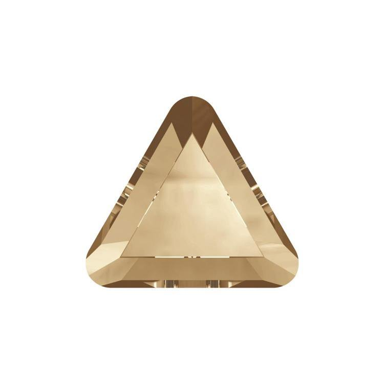 MINI TRIANGLE FLAT BACK - GOLDEN SHADOW