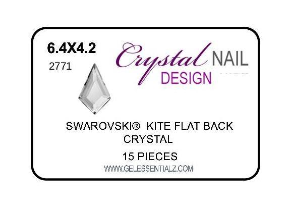 KITE FLAT BACK - CRYSTAL-Gel Essentialz