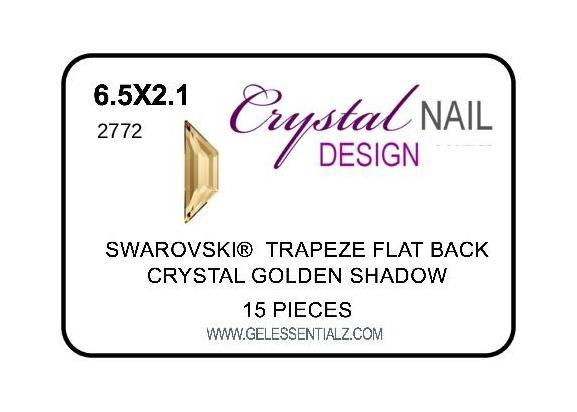 TRAPEZE FLAT BACK - Golden Shadow-Gel Essentialz