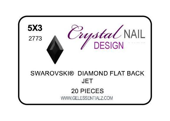 DIAMOND FLAT BACK - JET-Gel Essentialz