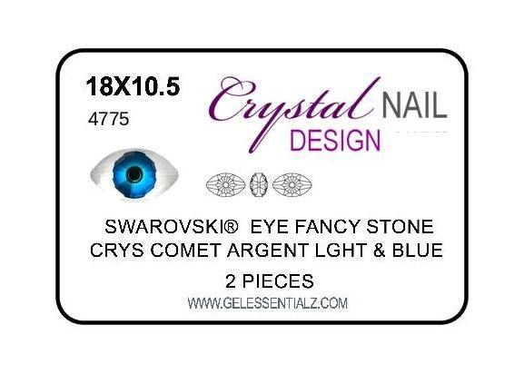 EYE FANCY STONE - BLUE 2PC-Gel Essentialz