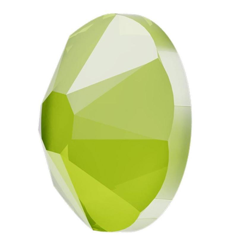 Crystal Lime - SWAROVSKI FLATBACK-Gel Essentialz