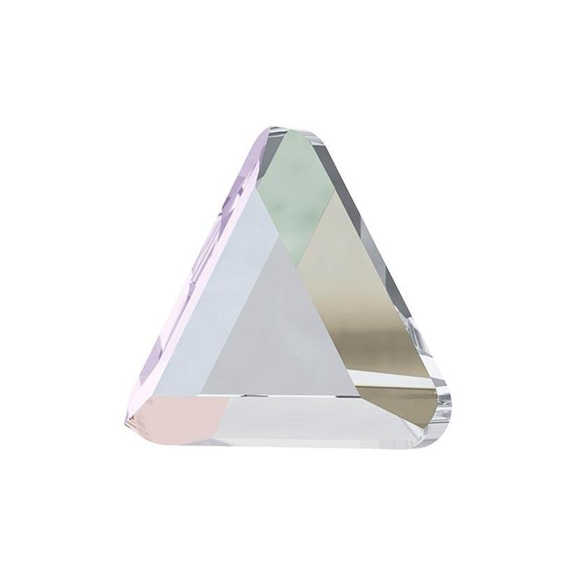 MINI TRIANGLE FLAT BACK - CRYSTAL AB-Gel Essentialz