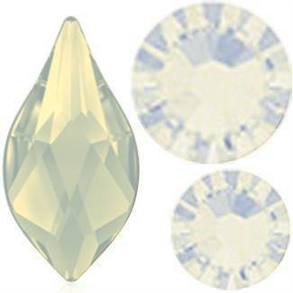 Swarovski Flame Mix Pack - White Opal