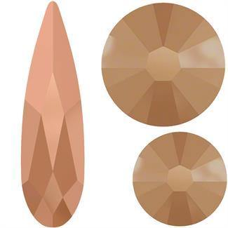 Swarovski Raindrop 2304 Mix Pack - Rose Gold
