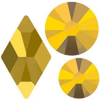 Swarovski Rhombus 2709 Mix Pack - Aurum