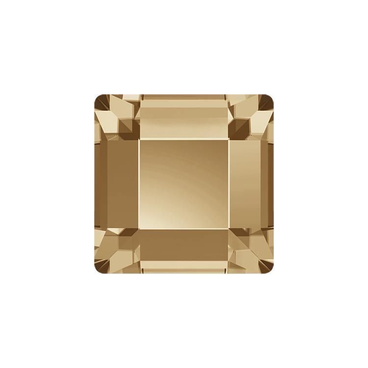 MINI SQUARE FLAT BACK - GOLDEN SHADOW