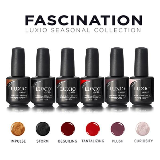 Luxio Fascination Collection (full 15ml size - all 6 colors)