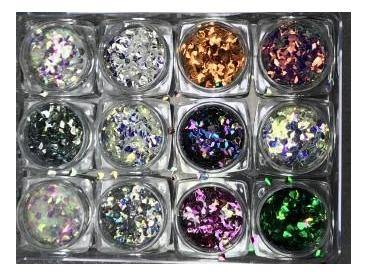 12pc. Diamond Cuts Confetti Bling-Gel Essentialz