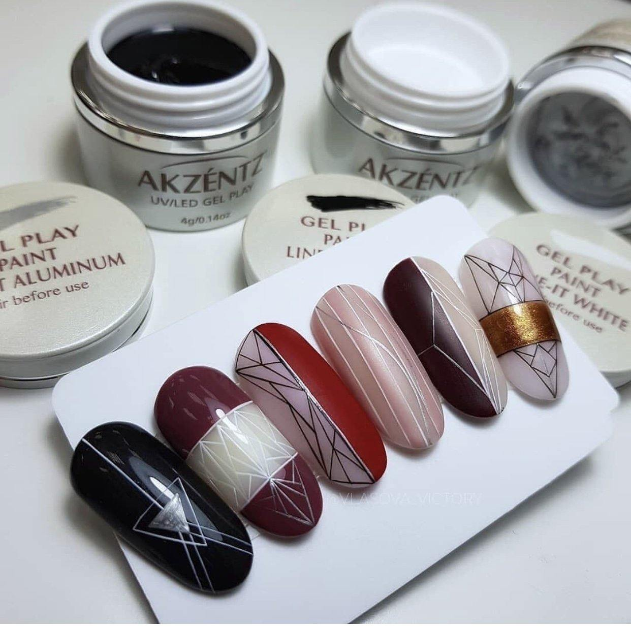 Gel Play Line-It Precious Metals Collection MINI'S