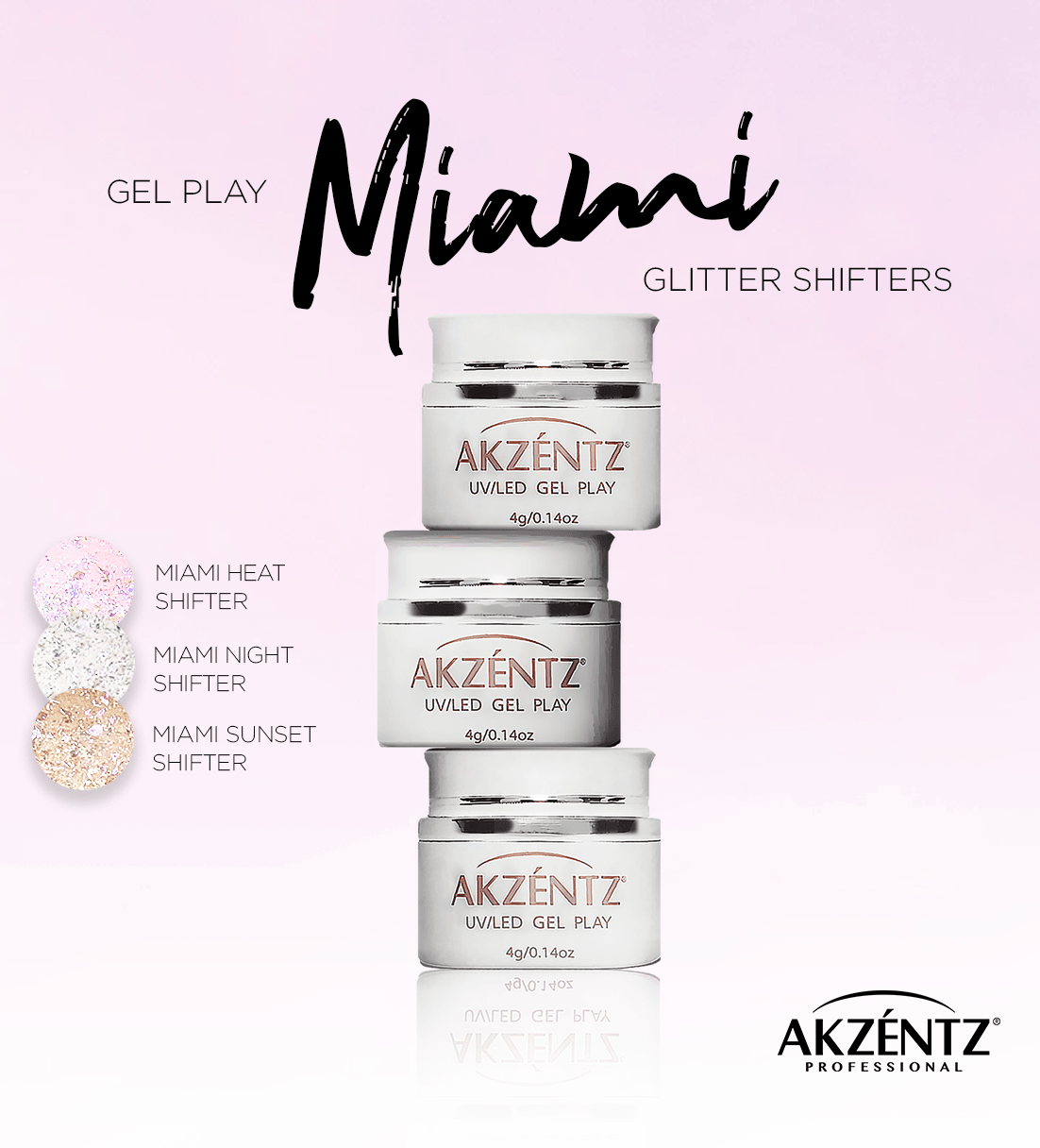 Gel Play - Miami Shifter Collection FULL SIZE *NEW*