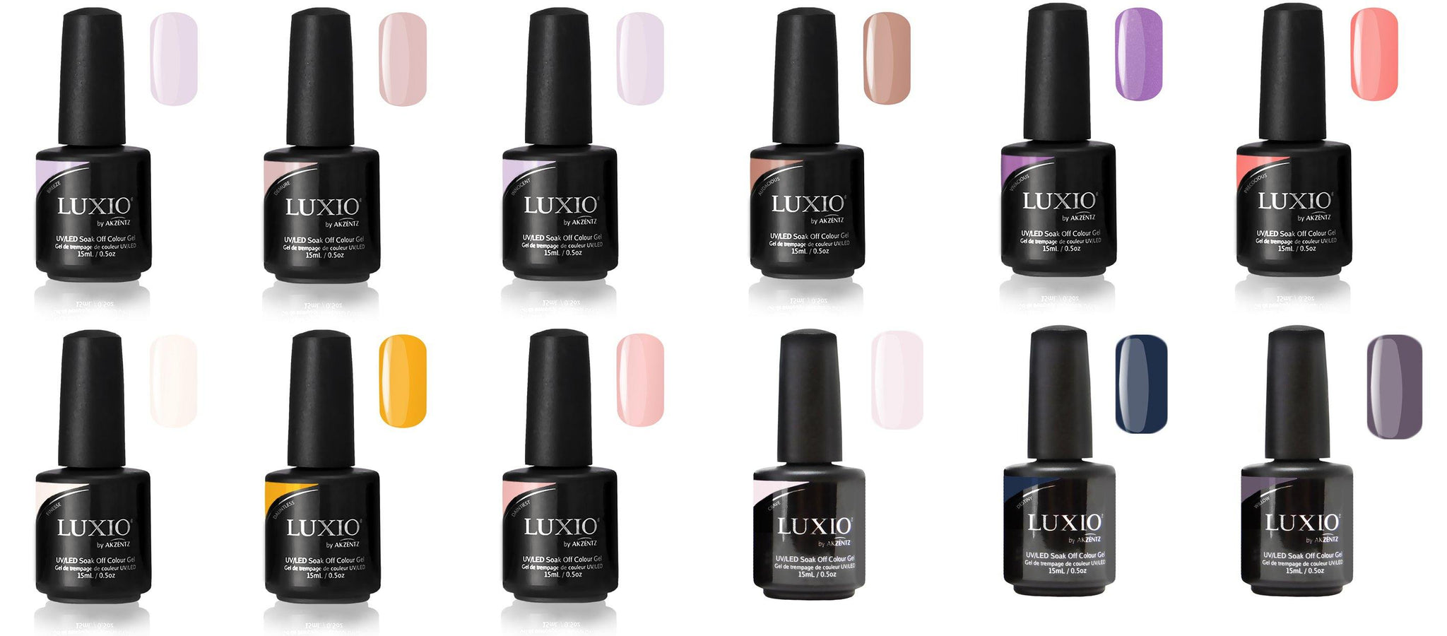 2019 Luxio Colour Collection (Fascination included!)