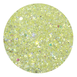 Banana Smoothie Glitter Mix-Gel Essentialz