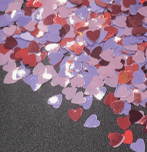 Candy Hearts Confetti Mix