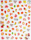 Fall Pasties Leaves Magical Decals 1