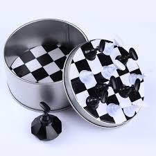 10pc. Nail Art Chess Set Display (D)