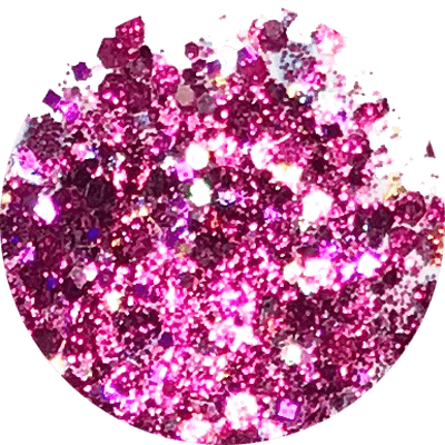 Sangria Bling Glitter Mix