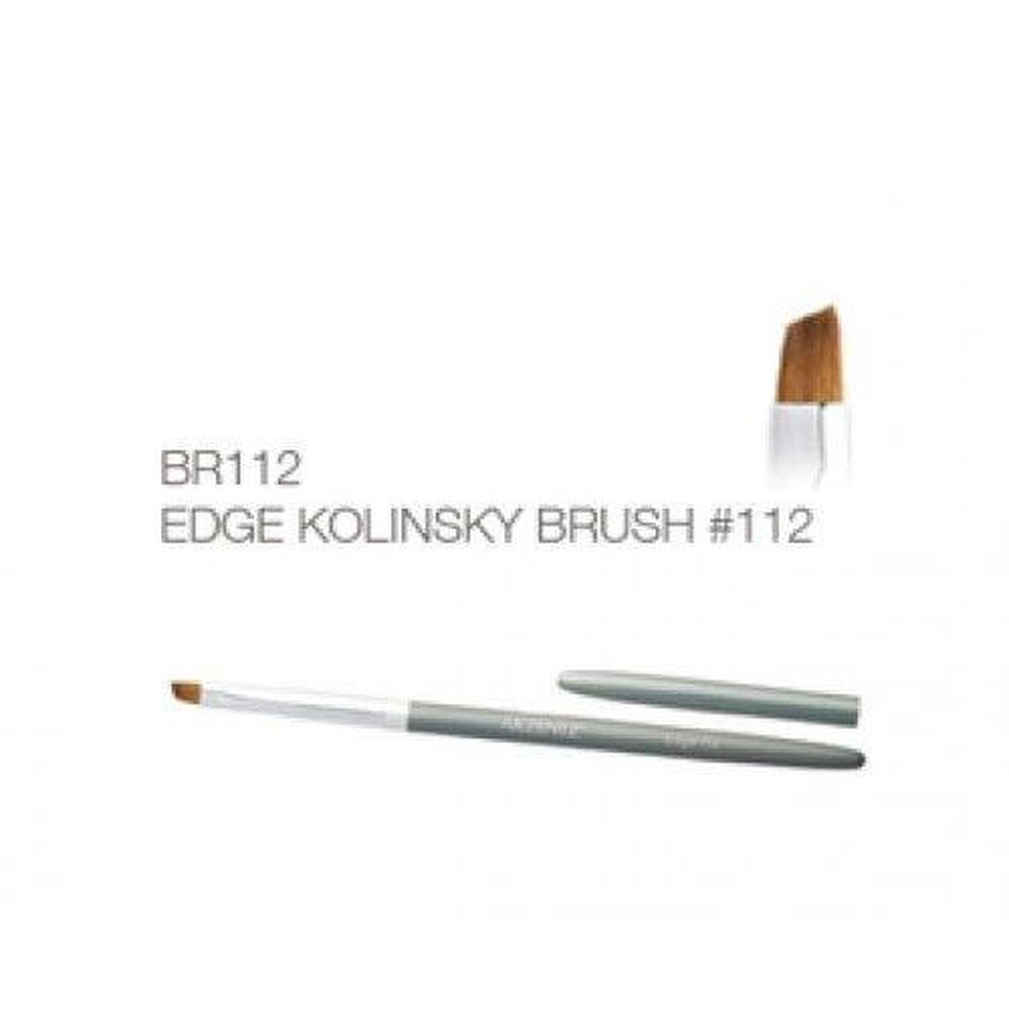 Premium Edge Kolinsky Brush #112-Gel Essentialz