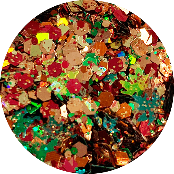 Fallen Leaves Glitter Mix (D)