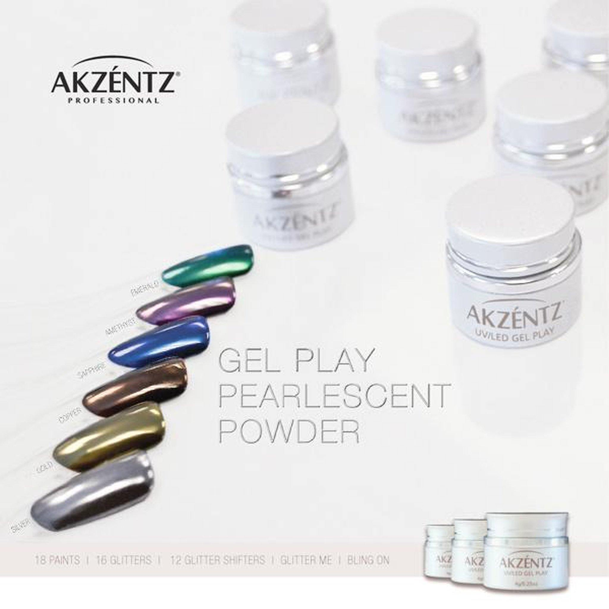 Gel Play Pearlescent Powder Kit-Gel Essentialz