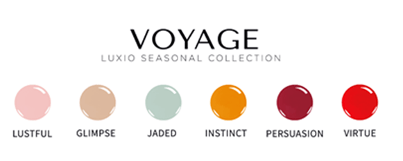 Luxio Voyage Collection (full 15ml size - all 6 colors)