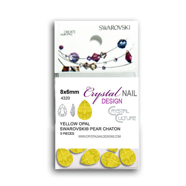 Pear Chaton Yellow Opal-Gel Essentialz