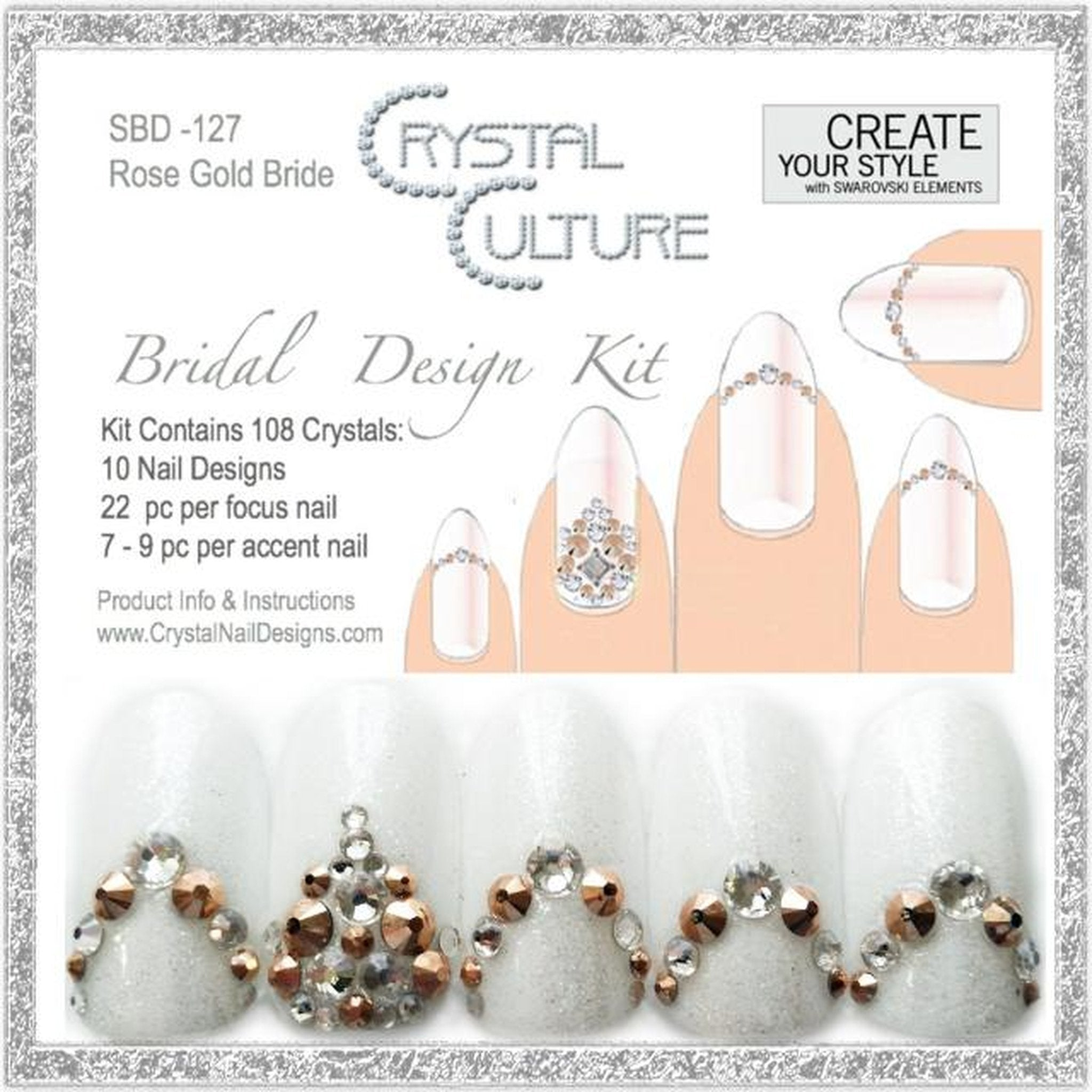 KIT ROSE GOLD BRIDE-Gel Essentialz