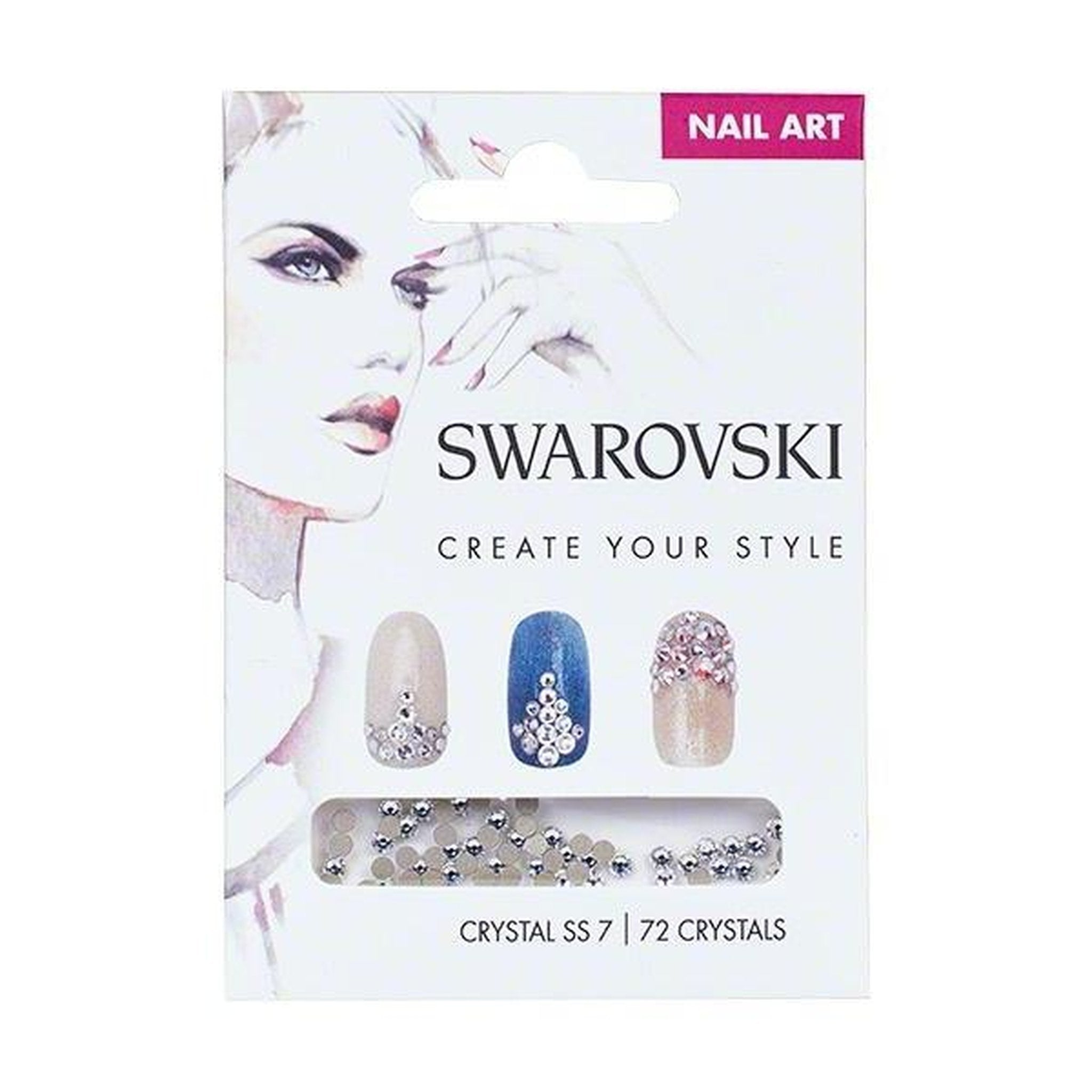 SWAROVSKI NAIL ART LOOSE CRYSTALS - CRYSTAL SS7-Gel Essentialz