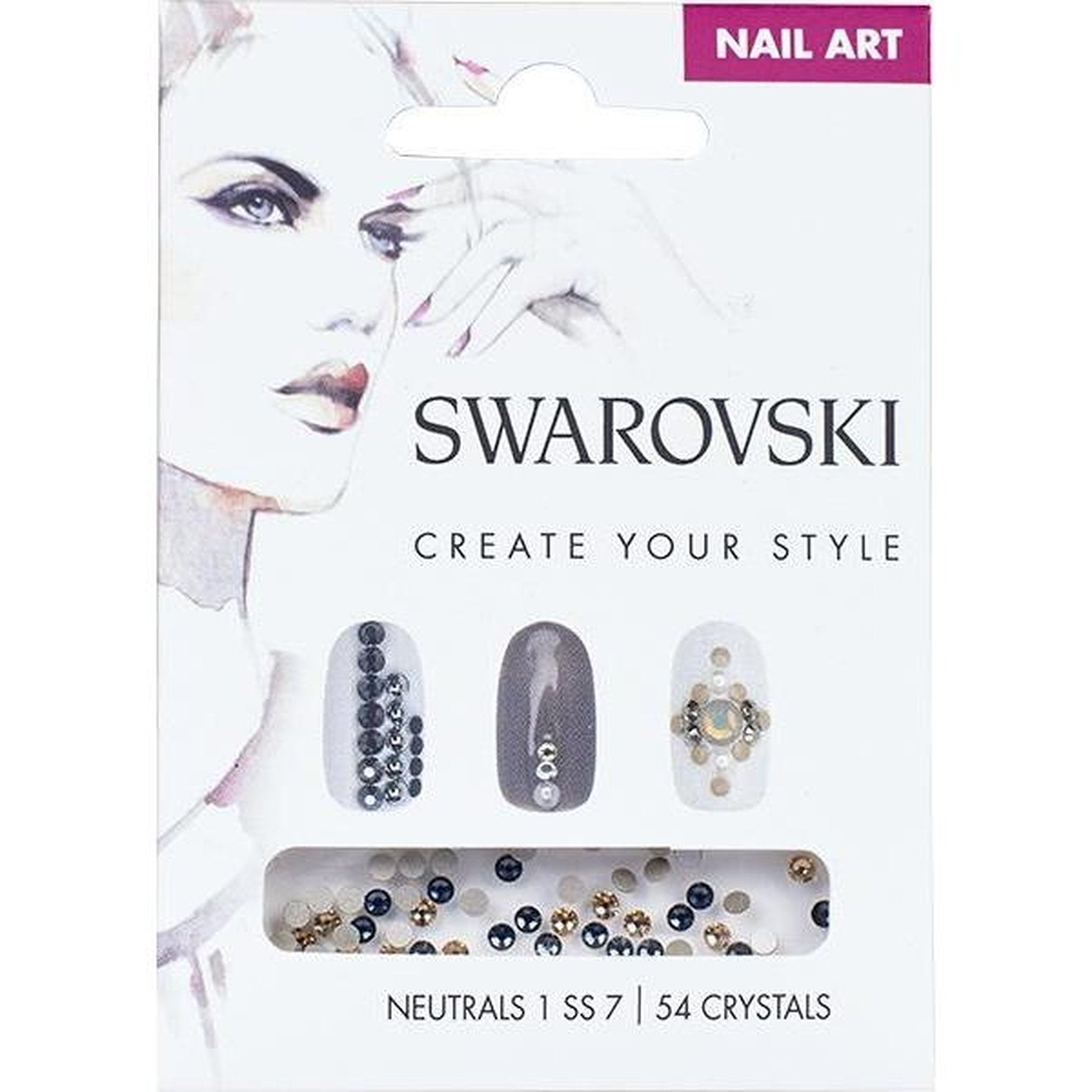 SWAROVSKI NAIL ART LOOSE CRYSTALS - NEUTRAL 1 SS7-Gel Essentialz