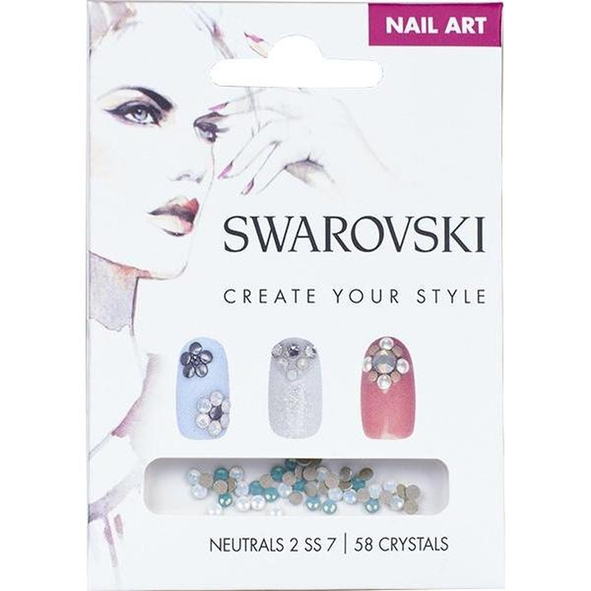 SWAROVSKI NAIL ART LOOSE CRYSTALS - NEUTRAL 2 SS7-Gel Essentialz