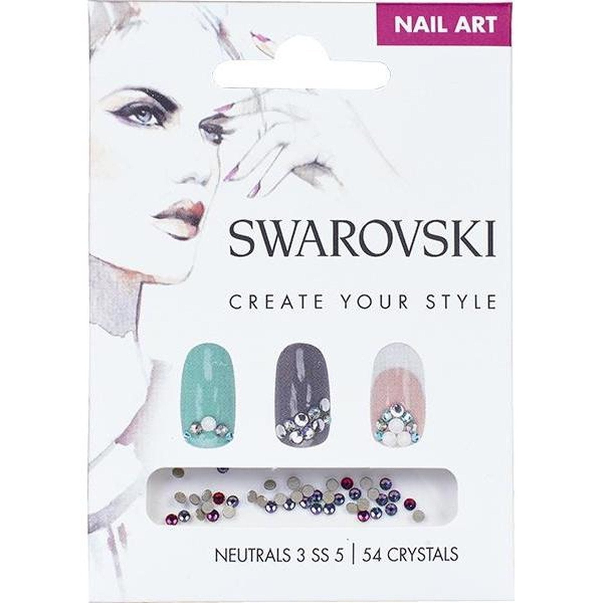 SWAROVSKI NAIL ART LOOSE CRYSTALS - NEUTRAL 3 SS5-Gel Essentialz