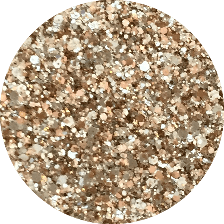 Tri-Gold Bling Glitter Mix