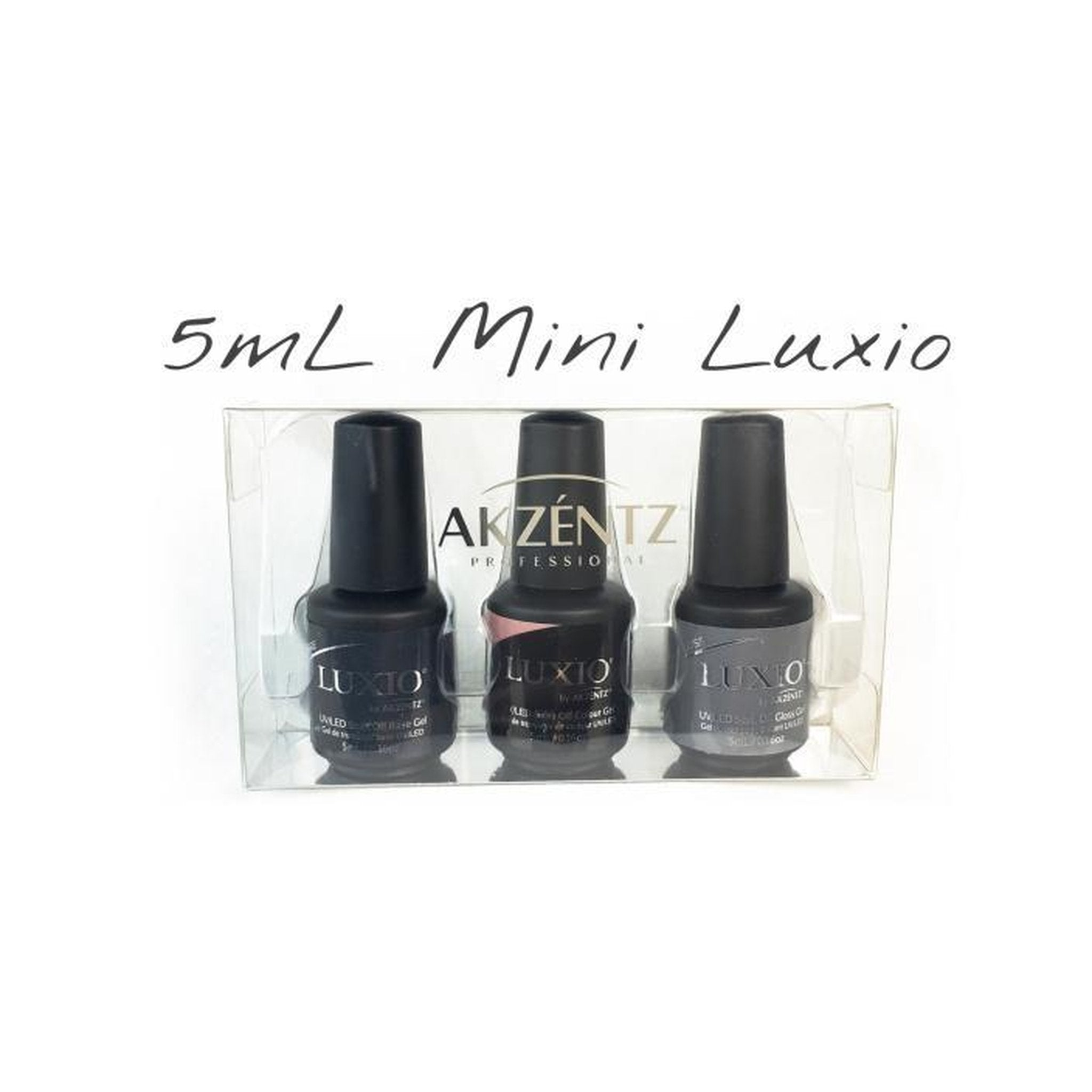 UV/LED Luxio Try Me Mini's-Gel Essentialz