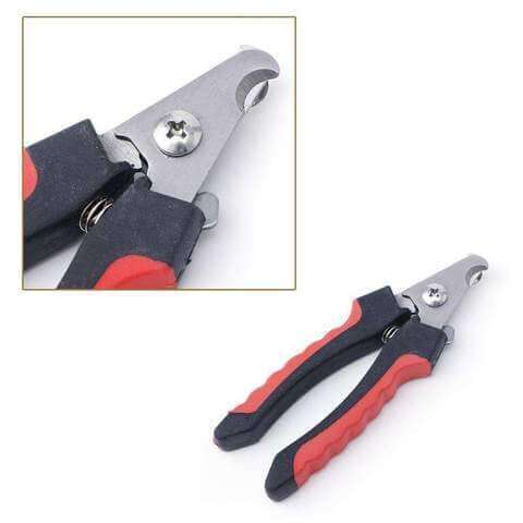 Complete Grooming Care Set For Dogs & Cats Stainless Steel Rasp & Nail Clippers - www.peterspetsupplies.com