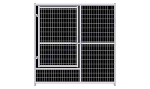 Rhino Dog Kennel Gate Panel Heavy Duty Galvanized Welded Wire Whelping Gate Panel - www.peterspetsupplies.com