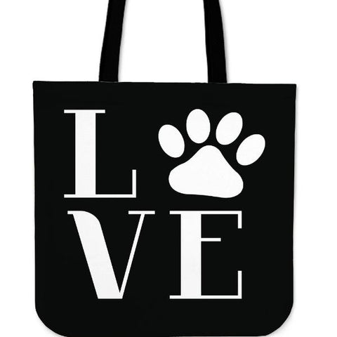 Love Paw Tote Bag - www.peterspetsupplies.com
