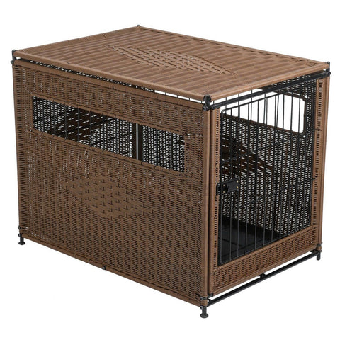 PetSafe Solvit Indoor Pet Home Medium Brown - www.peterspetsupplies.com