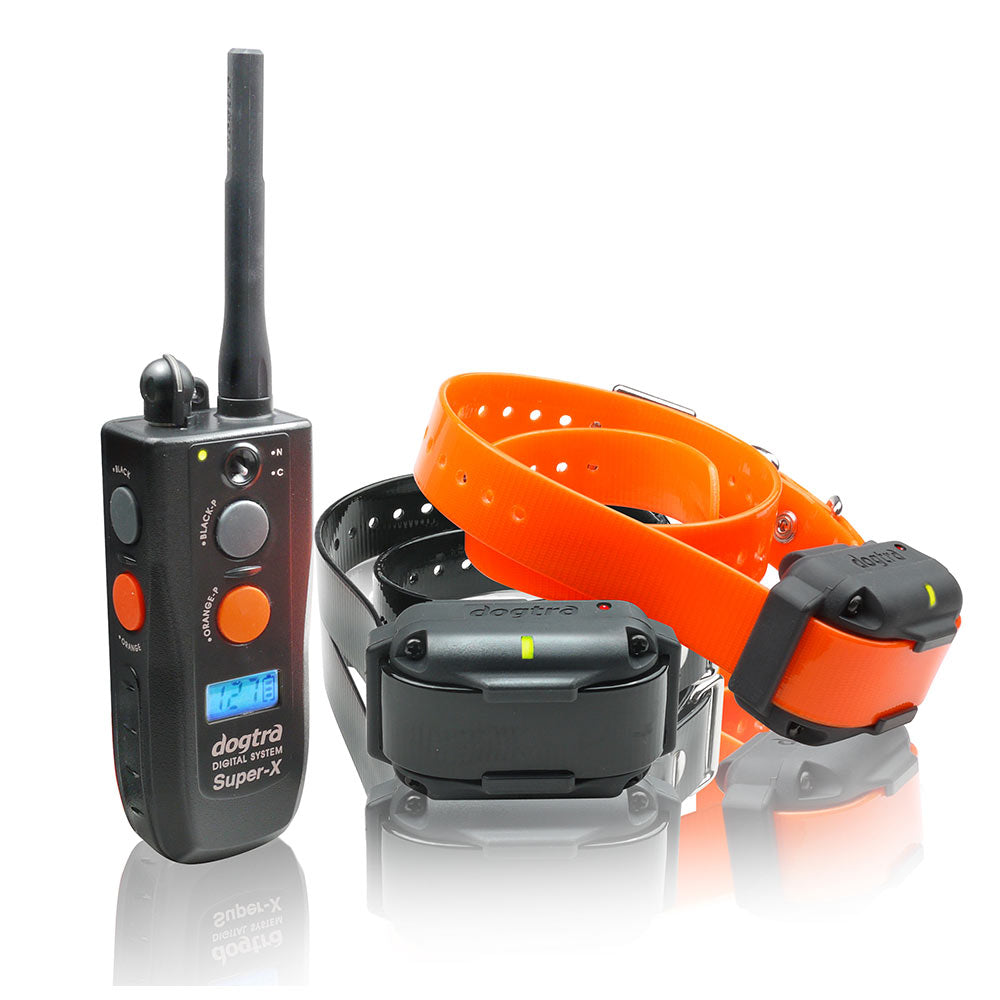 Dogtra Super-X 1 Mile 2 Dog Remote Trainer - www.peterspetsupplies.com