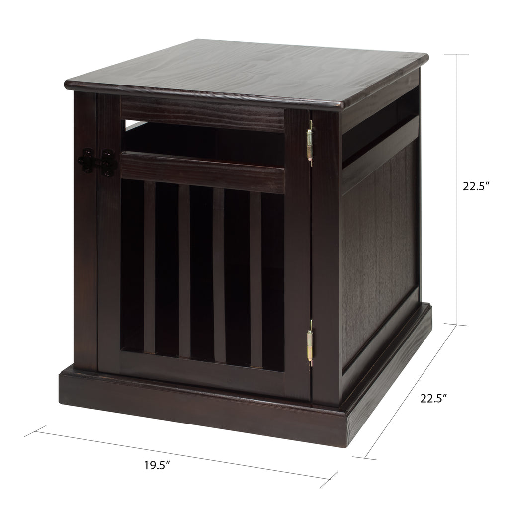 Chappy Pet Crate with Wood Slats