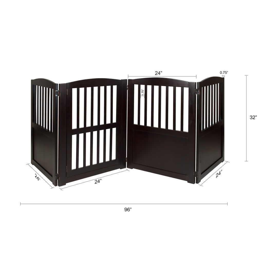 Chappy Convertible Pet Gate - www.peterspetsupplies.com