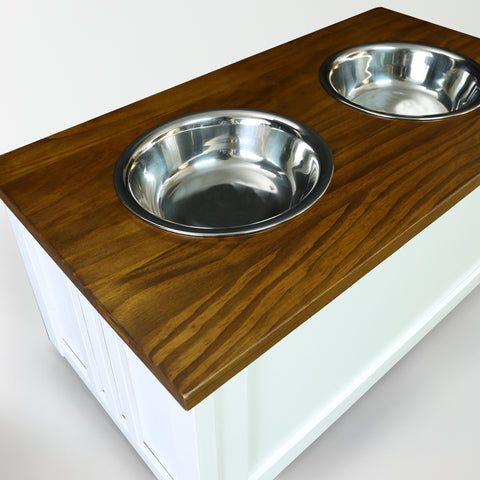 Image of Pet Feeder Storage Stand - www.peterspetsupplies.com