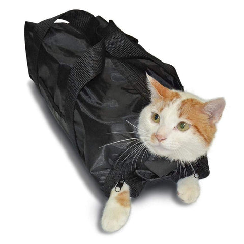 Image of Heavy Duty Mesh for Cat Grooming, Bathing & Nail Trimming - www.peterspetsupplies.com
